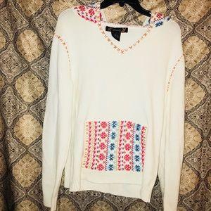 Awesome Vintage Hoodie Sweater Sz L 🎀